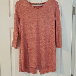 Pinkish red Lands' End open back top size XS